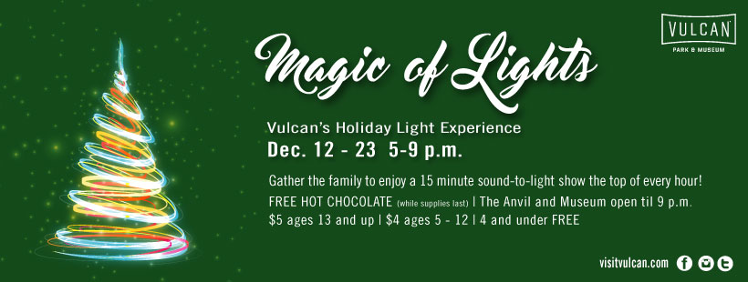 Residents can now stream music from Vulcan's Holiday Show across town