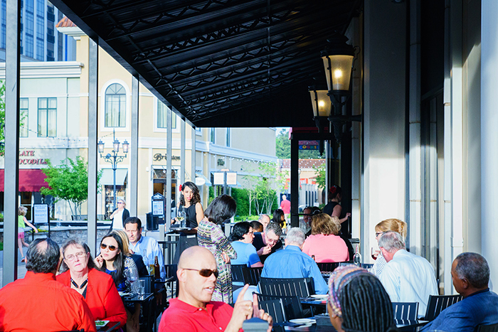 Spring Arrives and This Huntsville Patio Heats Up