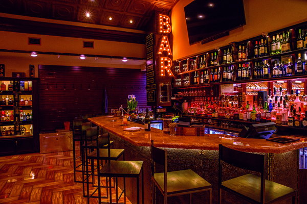 The bar's award winning cocktail program is the finest display of mixology Huntsville has to offer.