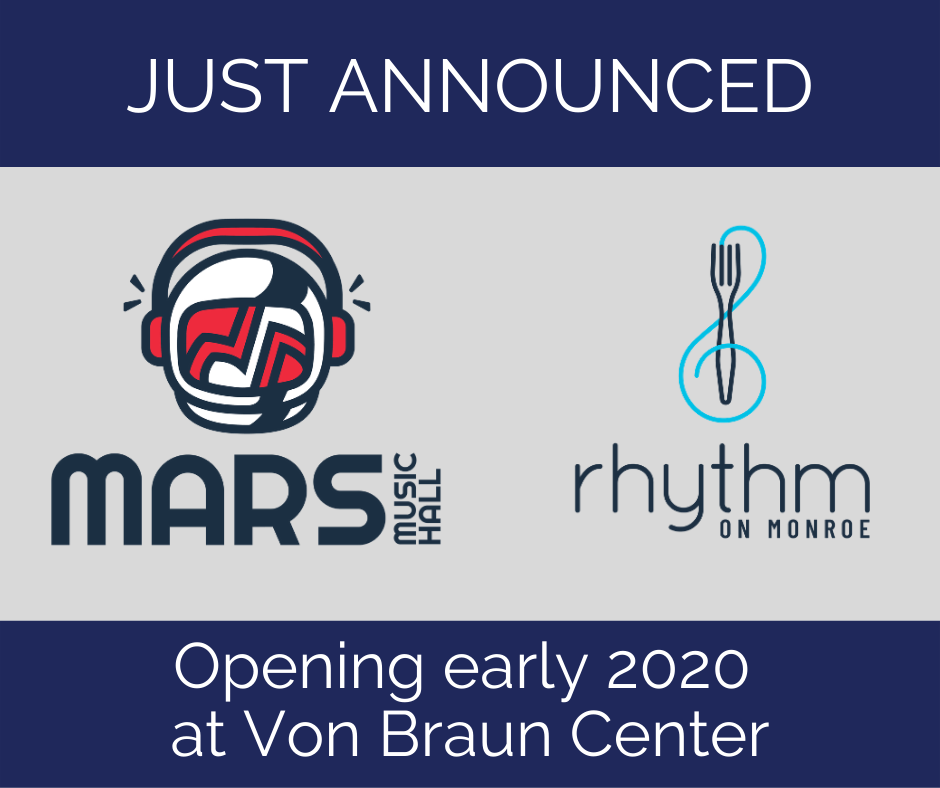 Huge Announcement from the Von Braun Center in Huntsville!